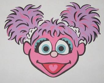 Sesame Street Abby Cadabby Inspired Die Cut