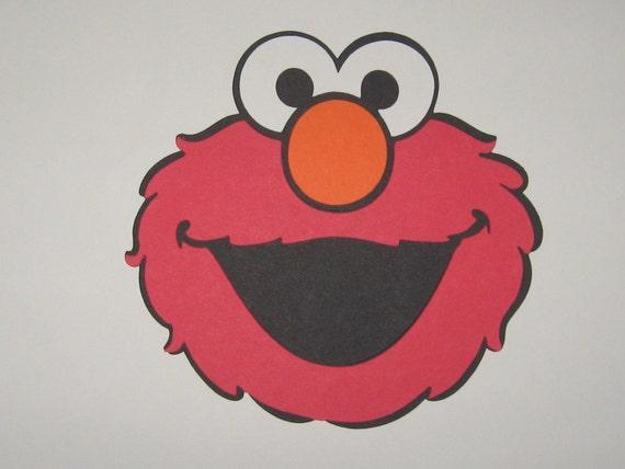 Sesame Street Elmo Inspired Die Cut