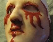 Skinned Horror Face Mask - Alysa -