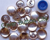 Cover Button Starter Kit  Size 24 (5/8 inch) -  Wire Backs