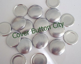 Flat Backs - 25 Size 36 (7/8 inch) Cover Buttons