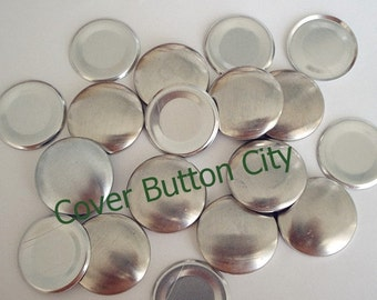 200 Size 45 (1 1/8 inch) Cover Buttons - FLAT BACKS