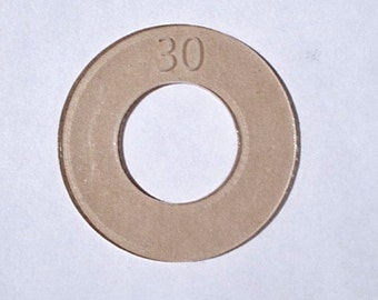 Size 30 (3/4 inch) Cover Button Template