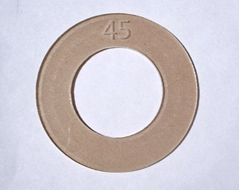 Size 45 (1 1/8 inch) Cover Button Template