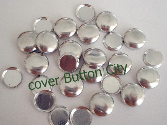 75  Cover Buttons Size 24 (5/8 inch) - Flat Backs