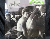 A-ha Hunting High and Low NM in Shrink w/Sticker LP Record Album Rock New Wave