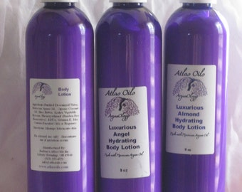 Luxurious Unscented Hydrating Body Lotion 8oz
