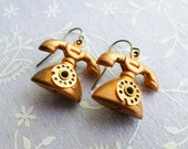 Vintage Phone Earrings
