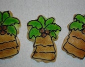 Palm Tree Cookie Favors
