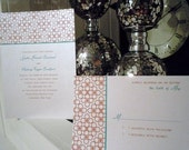 Modern Ornate Wedding Invitations SAMPLE