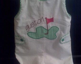 INSTANT download Golf tee applique machine embroidery design 4x4 5x7 6x10