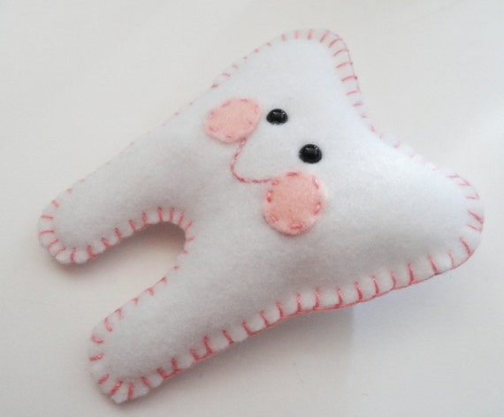 Tooth Fairy Pillow Your choice of color Basic Style