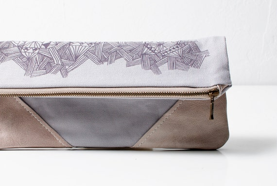 Etno Printed  Leather Pouch No. ZP-501
