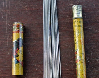 Eureka Steel Knitting Pins Highly Tempered with case