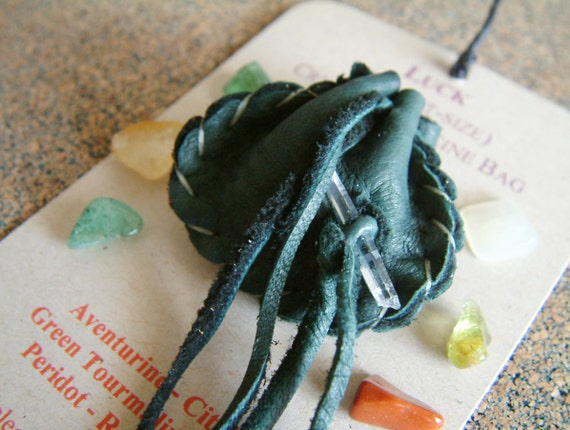 Luck pocket-size Crystal Medicine Bag