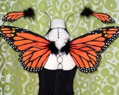 Mini Monarch Fairy Wings