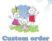 Custom order for Alaina