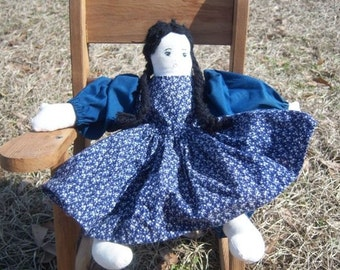 Vintage Shop Antique Hand-Made Cloth Doll