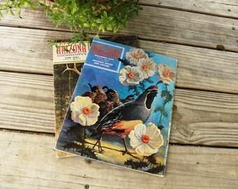 Vintage Arizona Highways Magazines 1961 and 1968