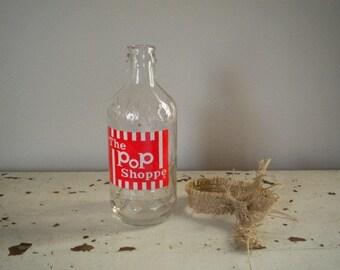 Vintage The Pop Shoppe Bottle Valentine Home Decor Birthday Party Decor