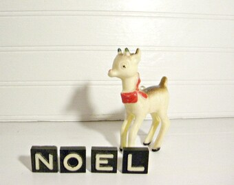 NOEL Vintage Wood  Letters Christmas Home Decor Holiday Home Decor