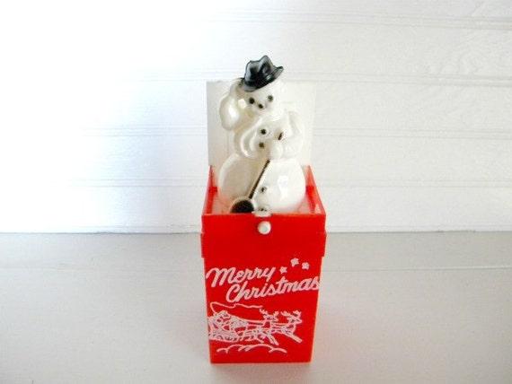 Vintage Snowman Christmas Decoration Holiday Home Decor