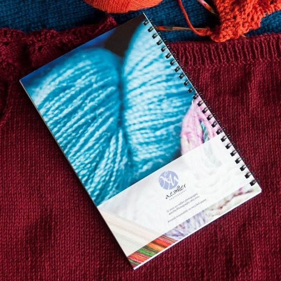 Knitting Project Journal : Knitting crocheting project journal get organized
