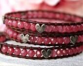 sale Triple Tiny Wrap Bracelet for Valentine