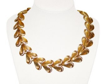 Heart Choker Necklace, Pretty Pave Rhinestones