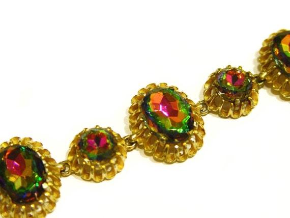 Schiaparelli Bracelet, Signed and Rare