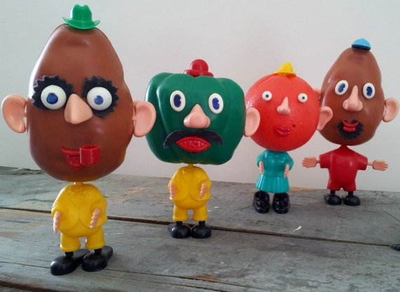 Vintage Mr. Potato Head LOT