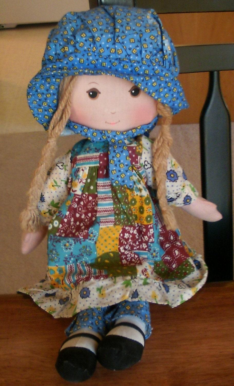 Vintage Holly Hobbie Doll Knickerbocker