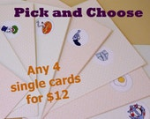 Pick and Choose 4 Cards