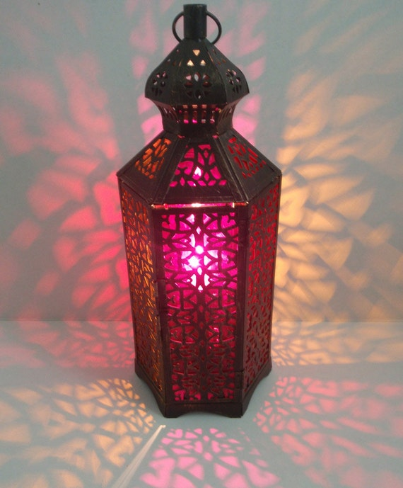 Anthropologie Lamps: Anthropologie Inspired Moroccan Table Lamp