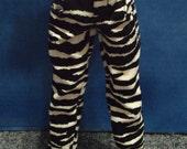 MARKDOWN Zebra Corduroy Pants 45cm BJD