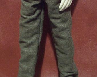 Tan Denim 45cm BJD jeans