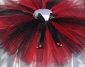 Lady Bug Baby Tutu, Red and Black tutu, Brithday tutu