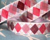Pink and Purple Argyle Deco Tape