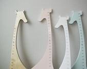 Wooden Giraffe Growth Chart