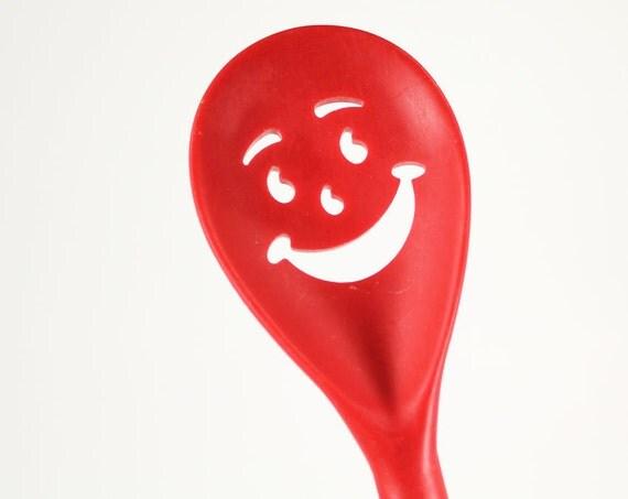 Kool Aid Man Red Plastic Character Spoon