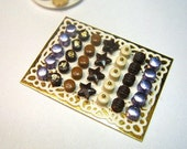 34 exquisite handmade Quality Miniature Chocolates - by 12TH