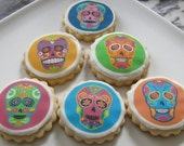 Day of the Dead Skull Cookies