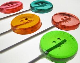 Button Lollipops 6 pieces
