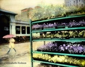 Handmade Blank City Landscape Photo Greeting Card