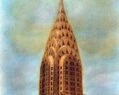 The Chrysler Building - Photo Reproduction City Landscape Print