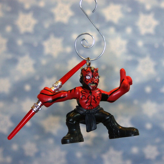 Star Wars Clone Wars Darth Maul Christmas Ornament