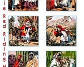 Little Red Riding Hood Clip Art Digital Collage Sheet Supplies