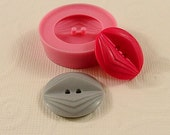 Vintage Deco Button Flexible Silicone Mold/Mould (21mm) for Crafts, Jewelry, Scrapbooking, (resin, paper,  pmc, polymer clay) (227)