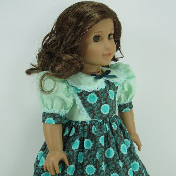 18 Inch Doll Clothes for American Girl Dolls - A Spring Dress for Molly or Emily