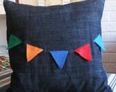 Eco-Felt Flag Pillow Cover